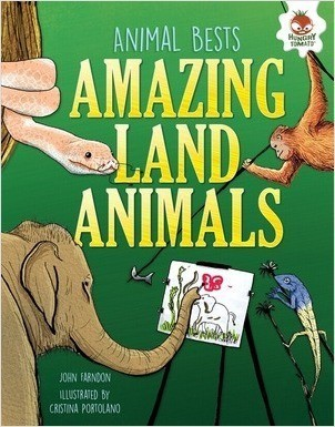 Cover: Amazing Land Animals