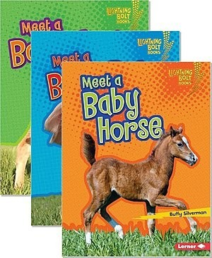 Cover: Lightning Bolt Books ™ — Baby Farm Animals — Hardcover Set