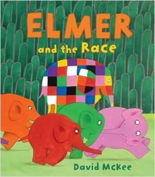 Cover: Elmer and the Race