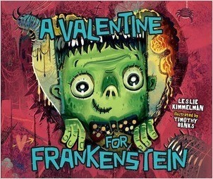 Cover: A Valentine for Frankenstein