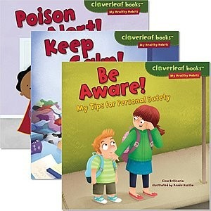 Cover: Cloverleaf Books ™ — My Healthy Habits — eBook Set