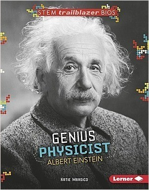 Cover: Genius Physicist Albert Einstein