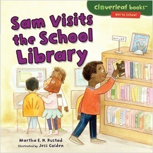 Cover: Sam Visits the School Library