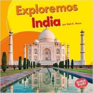 Cover: Exploremos India (Let's Explore India)