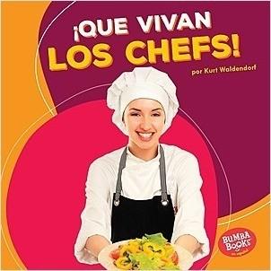 Cover: ¡Que vivan los chefs! (Hooray for Chefs!)