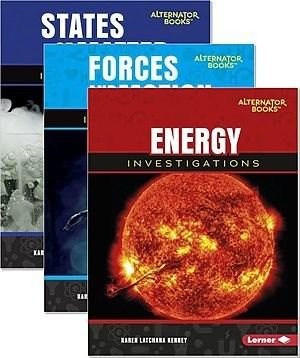 Cover: Key Questions in Physical Science (Alternator Books ™) — Hardcover Set