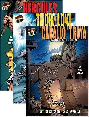Cover: Mitos y leyendas en viñetas (Graphic Myths and Legends) — eBook Set