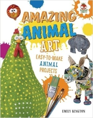 Cover: Amazing Animal Art