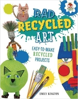 Cover: Rad Recycled Art