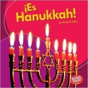 Cover: ¡Es Hanukkah! (It's Hanukkah!)