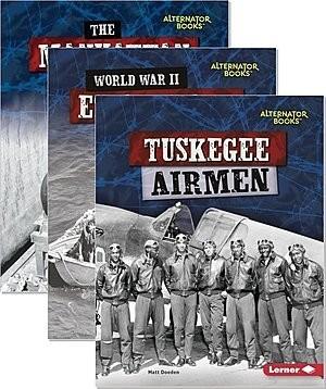 Cover: Heroes of World War II (Alternator Books ™) — Hardcover Set