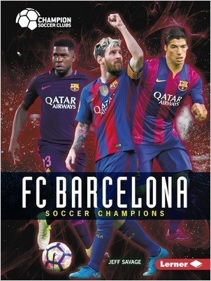 Cover: FC Barcelona: Soccer Champions