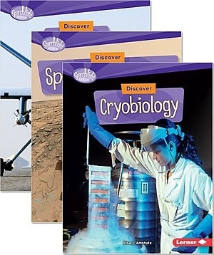 Cover: Searchlight Books ™ — What's Cool about Science? — Audisee®—On Level Set
