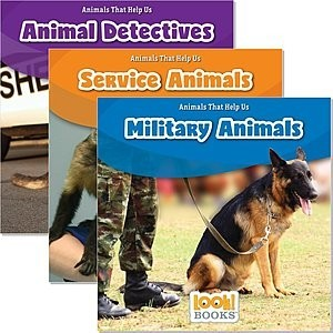Cover: Animals That Help Us (LOOK! Books ™) — Paperback Set