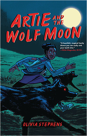 Cover: Artie and the Wolf Moon