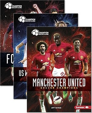 Cover: Champion Soccer Clubs — Paperback Set