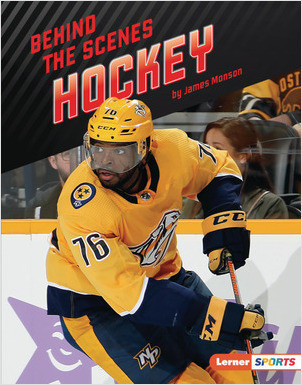 Cover: Behind the Scenes Hockey