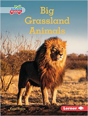 Cover: Big Grassland Animals