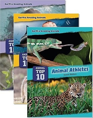 Cover: Core Content Science — Animal Top Ten — Hardcover Set