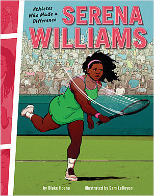 Cover: Serena Williams: Athletes Who Made a Difference