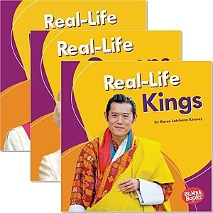Cover: Bumba Books ® — Real-Life Royalty — Hardcover Set