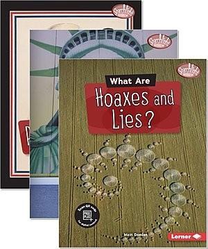 Cover: Searchlight Books ™ — Fake News — Hardcover Set
