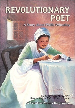 Cover: Revolutionary Poet: A Story about Phillis Wheatley
