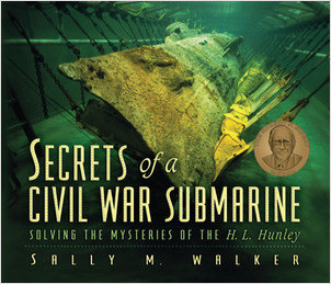 Cover: Secrets of a Civil War Submarine: Solving the Mysteries of the H. L. Hunley