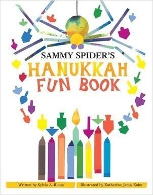 Cover: Sammy Spider's Hanukkah Fun Book