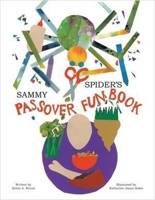 Cover: Sammy Spider's Passover Fun Book