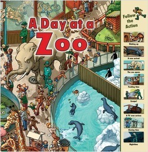 Cover: A Day at a Zoo