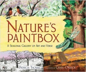 Cover: Nature's Paintbox: A Seasonal Gallery of Art and Verse