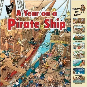 Cover: A Year on a Pirate Ship