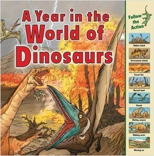 Cover: A Year in the World of Dinosaurs