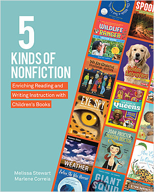 Cover: 5 Kinds of Nonfiction: Enriching Reading and Writing Instruction with Children's Books