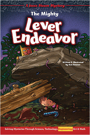 Cover: The Mighty Lever Endeavor: Solving Mysteries Through Science, Technology, Engineering, Art & Math
