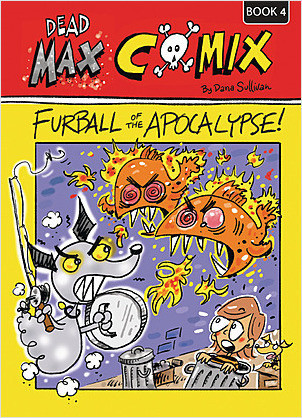 Cover: Fur Ball of the Apocalypse: Book 4