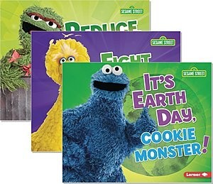 Cover: Go Green with Sesame Street ® — Hardcover Set
