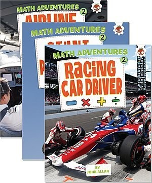 Cover: Math Adventures (Step 2) — Hardcover Set