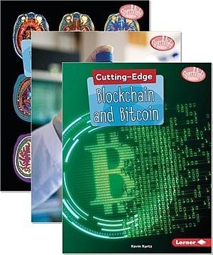 Cover: Searchlight Books ™ — Cutting-Edge STEM — Hardcover Set