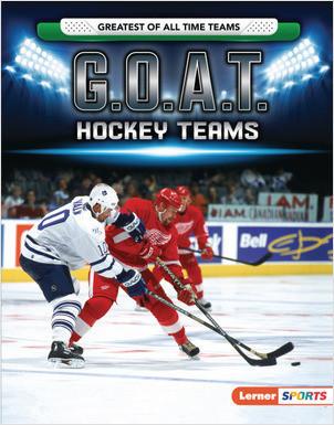 Cover: G.O.A.T. Hockey Teams
