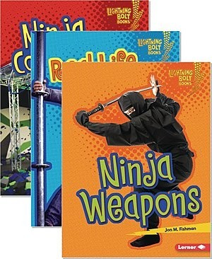 Cover: Lightning Bolt Books ® — Ninja Mania — Paperback Set