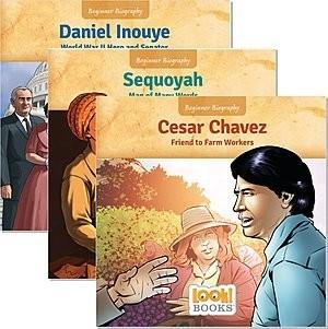 Cover: Beginner Biography (LOOK! Books ™) — Hardcover Set