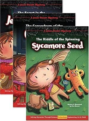 Cover: Jesse Steam Mysteries — Paperback Set