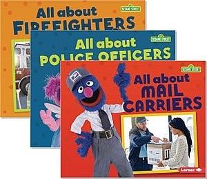 Cover: Sesame Street ® Loves Community Helpers — Hardcover Set