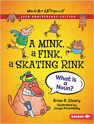 Cover: A Mink, a Fink, a Skating Rink, 20th Anniversary Edition: What Is a Noun?