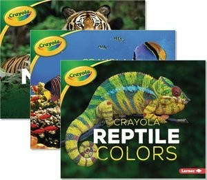 Cover: Crayola ® Creature Colors — Hardcover Set