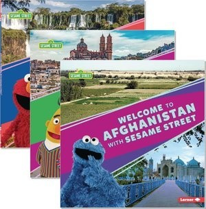 Cover: Sesame Street ® Friends around the World — Hardcover Set
