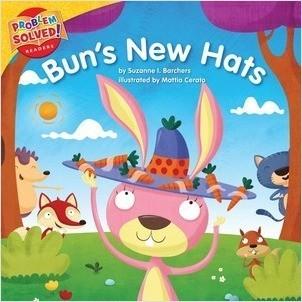 Cover: Bun's New Hats: A lesson on self-esteem