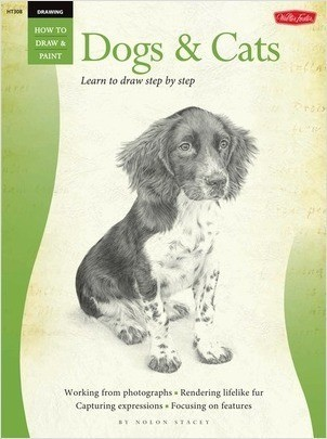 Cover: Dogs & Cats: Learn to draw step by step